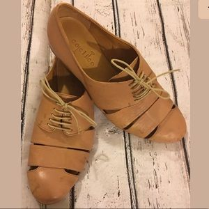 Coclico 6 Caged Sand Ishiro Shoe Tie Loafer $345